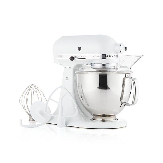 KitchenAid ® Artisan White Stand Mixer - Image 1 of 3