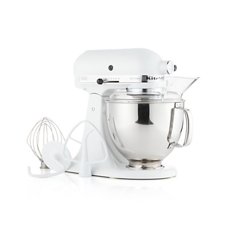 KitchenAid Artisan White Stand Mixer + Reviews | Crate and ...