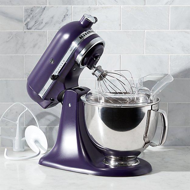 Kitchenaid Artisan Black Violet Stand Mixer Reviews