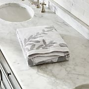 Kukkula Grey Bath Towel