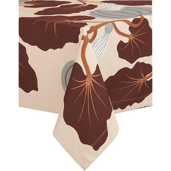 """Marimekko Kumina Neutral 60""""x120"""" Tablecloth"""