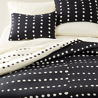 Kya Reversible Polka Dot Bedding