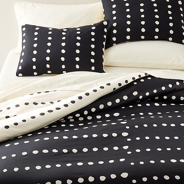 Kya Reversible Polka Dot Bedding