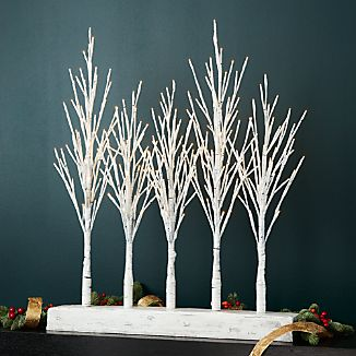 LED Birch Forest