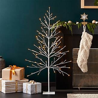 LED 5' Birch Tree