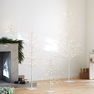 LED Birch Trees