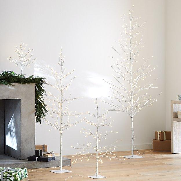 LED Birch Trees - Image 1 of 12