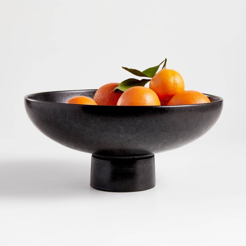 Riki Black Footed Bowl Crate And Barrel Canada