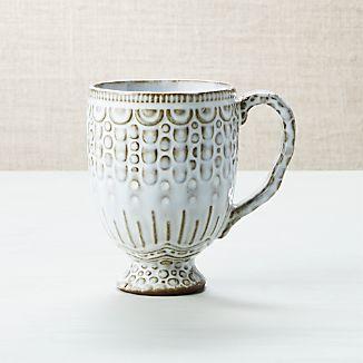 Lacey White Mug