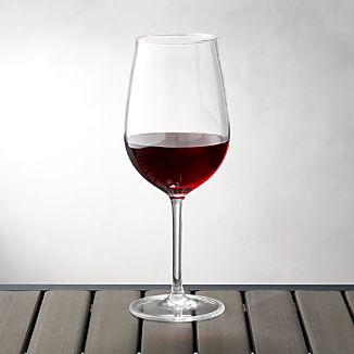 Acrylic Wine Glass