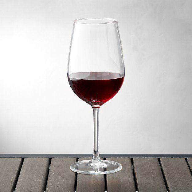 Acrylic Wine Glass Reviews Crate And Barrel