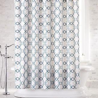 Lago Trellis Shower Curtain