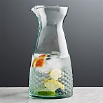 Lagos Spanish Recycled Glass Carafe