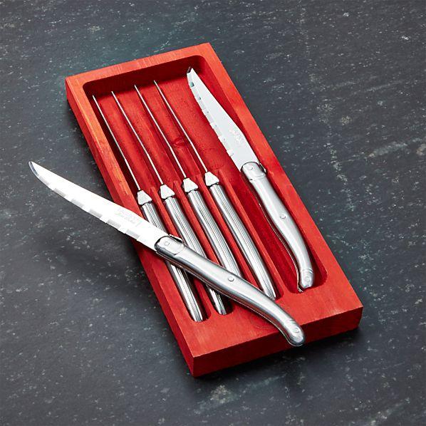 LaguioleSSSteakKnivesS6ROF16