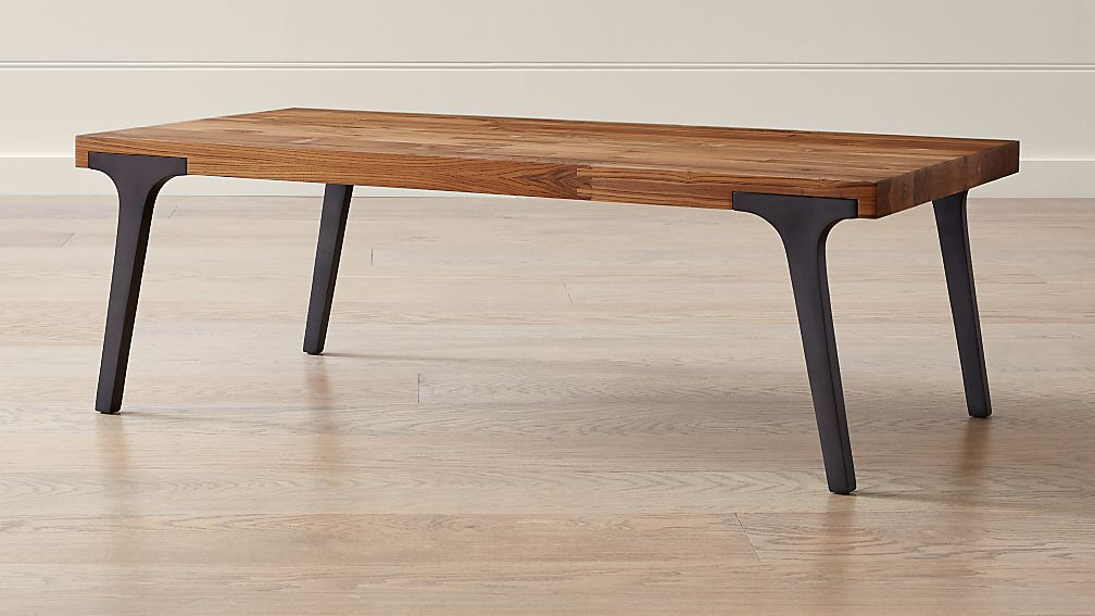 Lakin Recycled Teak Coffee Table - Image 1 of 12