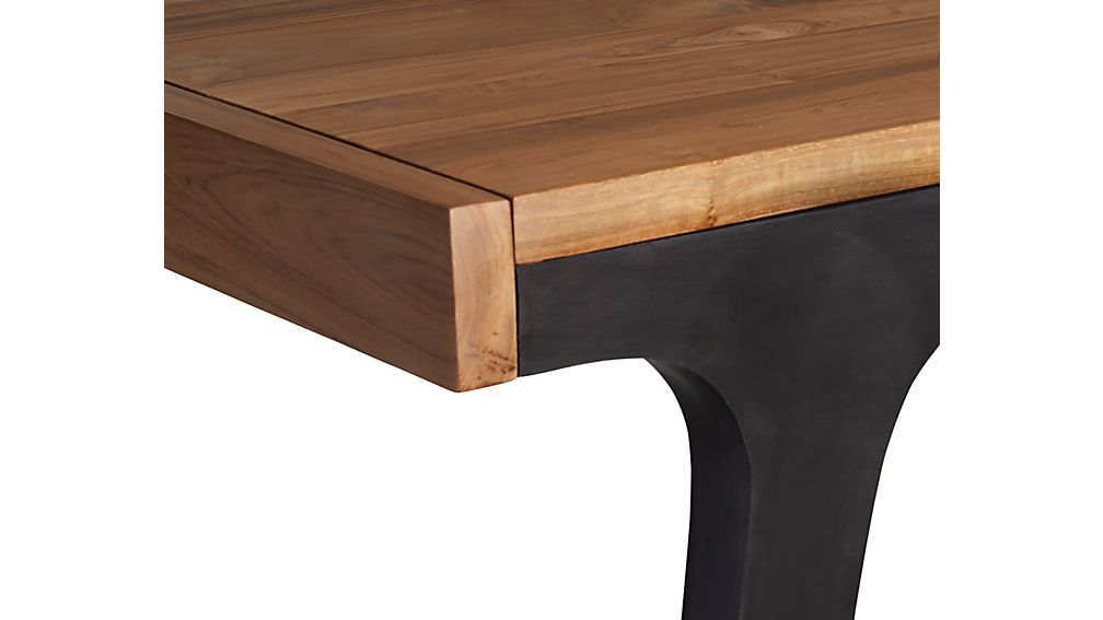 Lakin Recycled Teak Extendable Dining Table