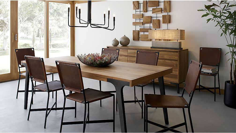 ... Lakin Recycled Teak Extendable Dining Table ...