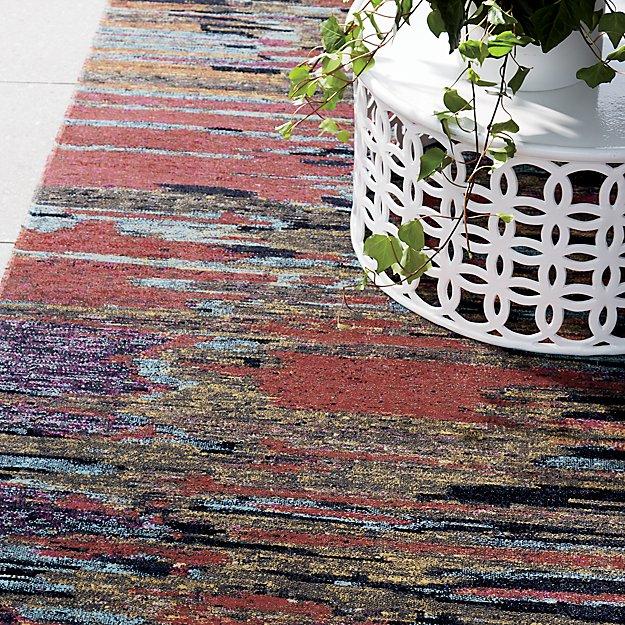 Lamond Indoor/Outdoor Multicolor Rug - Image 1 of 3