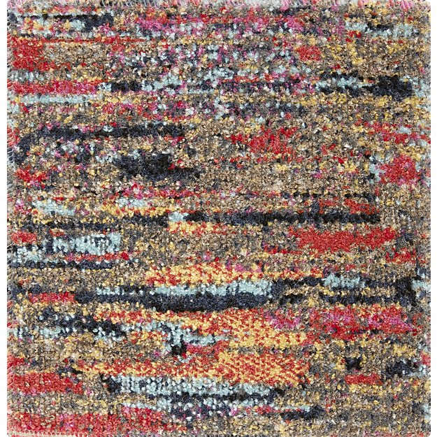 Lamond Indoor/Outdoor Multicolor Rug Swatch - Image 1 of 4