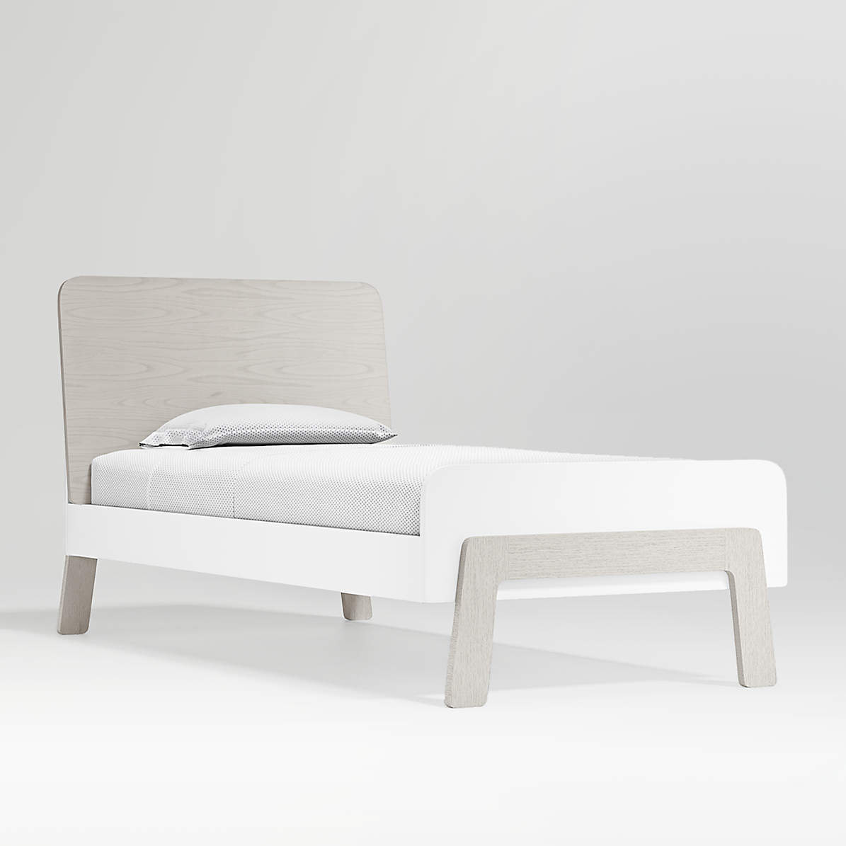 Lamont Twin Bed With Headboard Storage Crate And Barrel Canada