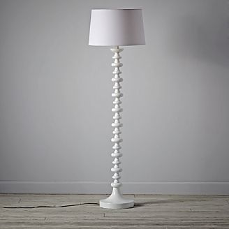 Jenny Lind White Floor Lamp