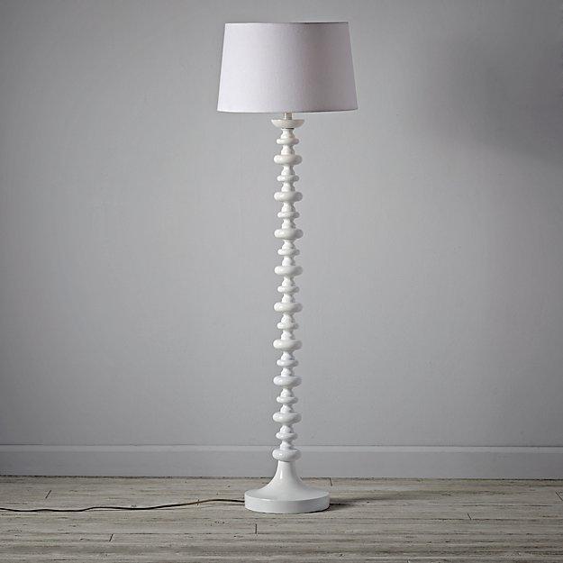 Jenny Lind White Floor Lamp Base