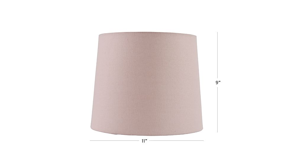 Elegant TAP TO ZOOM Image With Dimension For Mix And Match Light Pink Table Lamp  Shade