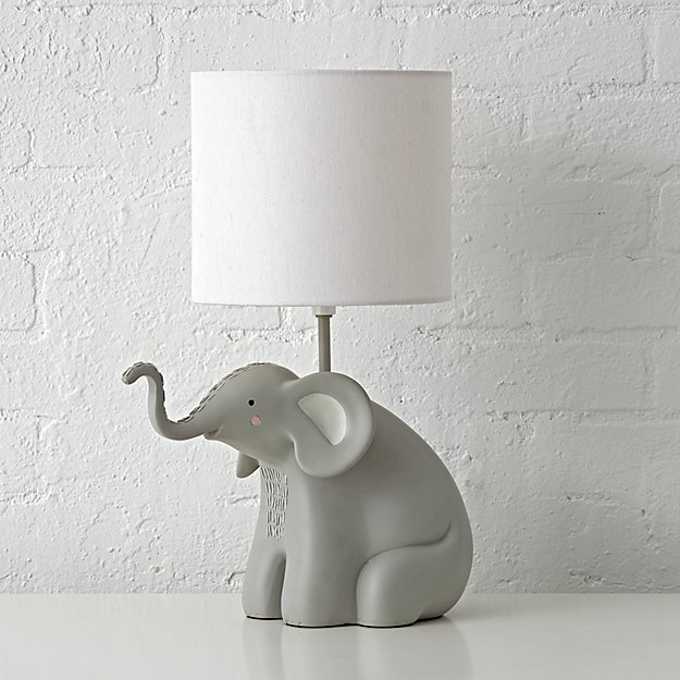 Lovely Elephant Table Lamp + Reviews | Crate and Barrel KB03