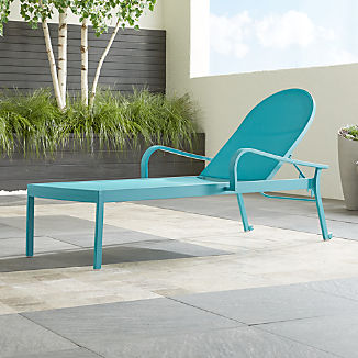 Lanai Aqua Mesh Chaise Lounge
