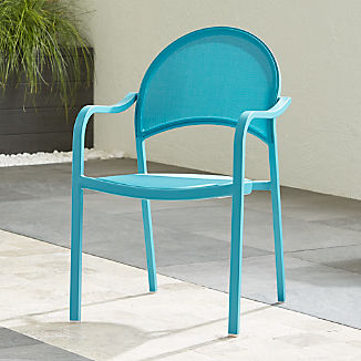 Lanai Aqua Mesh Dining Chair