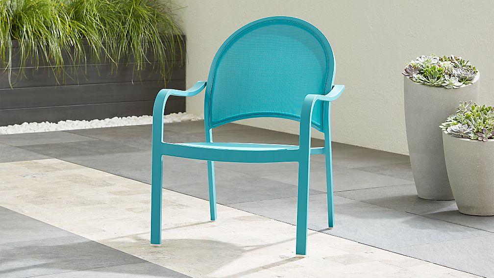 Lanai Aqua Mesh Lounge Chair - Image 1 of 6