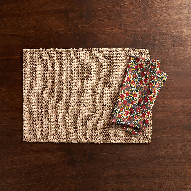 Lanai Placemat and Lola Napkin