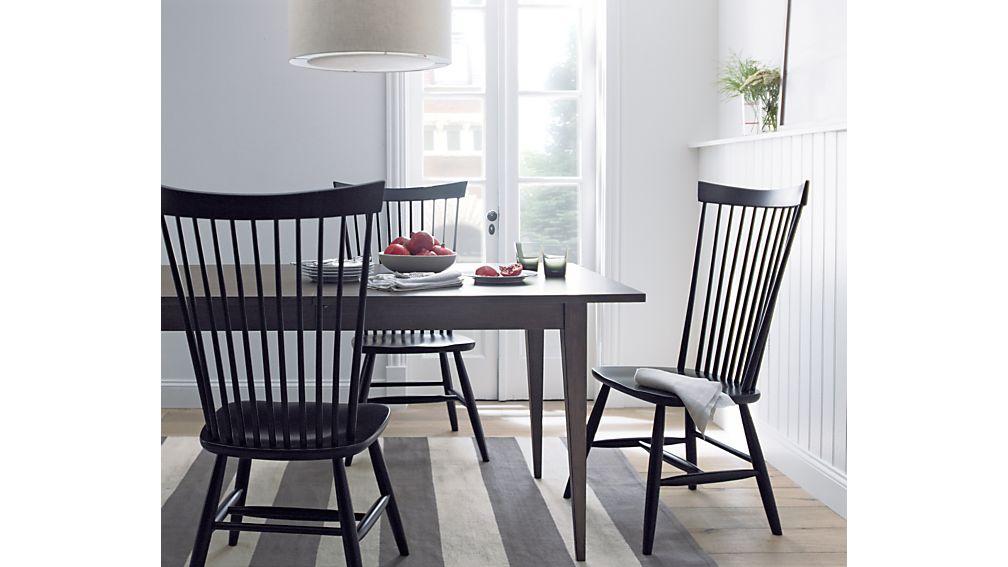 lancasterextensndnngtblji13 alcometti118diningtblsi213 farmhousedinnerwaresyrupje17 dakotadiningcollectionnc16 - Black Wood Dining Table And Chairs