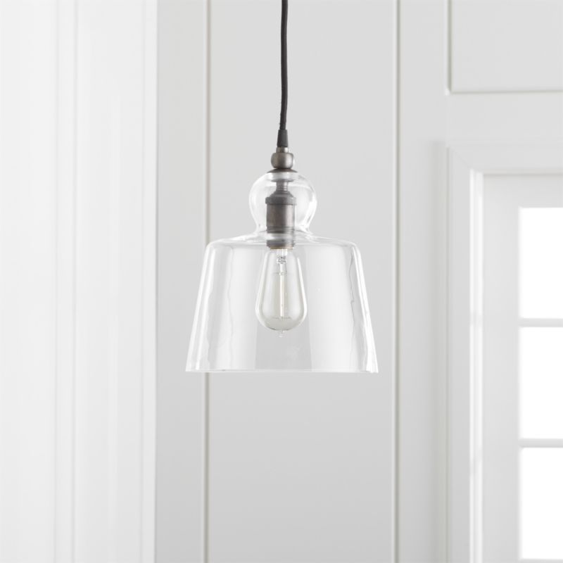 Lander Pewter Pendant Light + Reviews