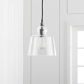 Lander Pewter Pendant Light