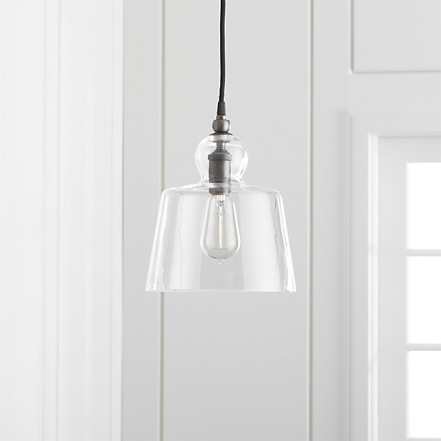 Lander pewter pendant light reviews crate and barrel aloadofball Image collections