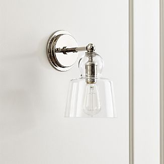 lander polished nickel sconce colors