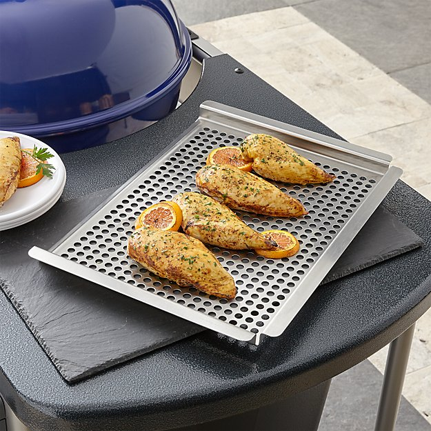 Large Stainless Grill Grid - Image 1 of 2