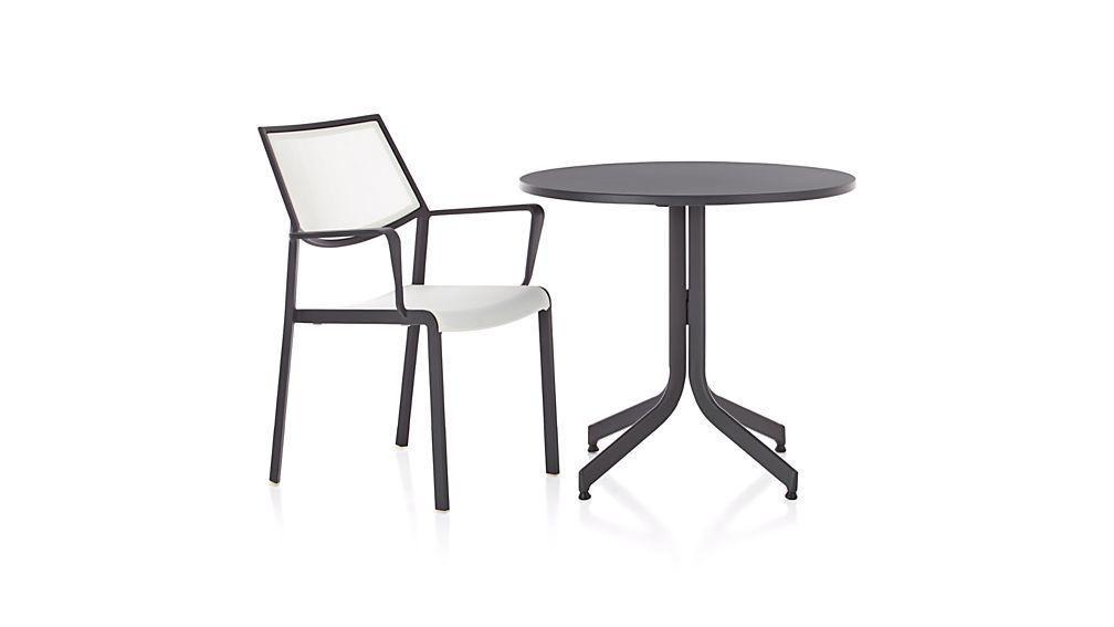 Largo Round Fliptop Dining Table