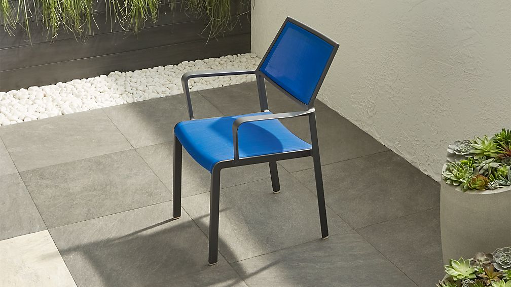 Largo Blue Mesh Dining Chair In Furniture Reviews