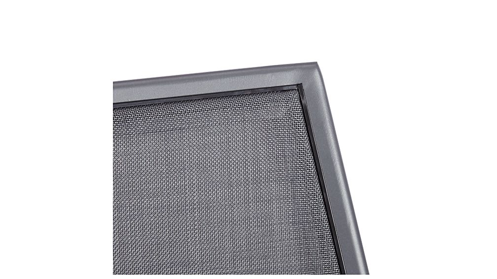 Largo Charcoal Grey Mesh Dining Chair