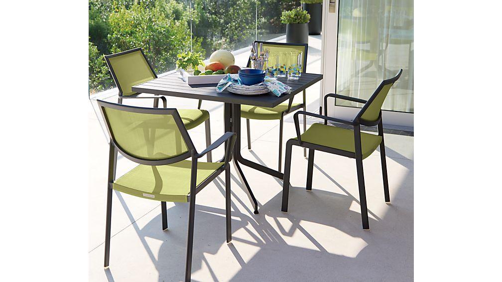 Largo Square Fliptop Dining Table