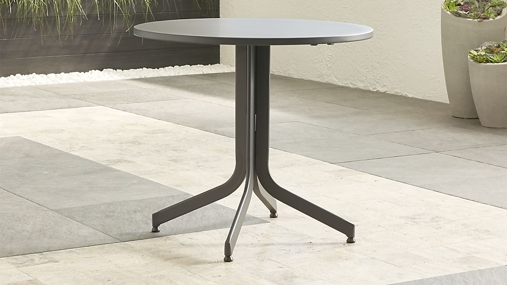 Largo Round Flip Top Table Reviews Crate And Barrel
