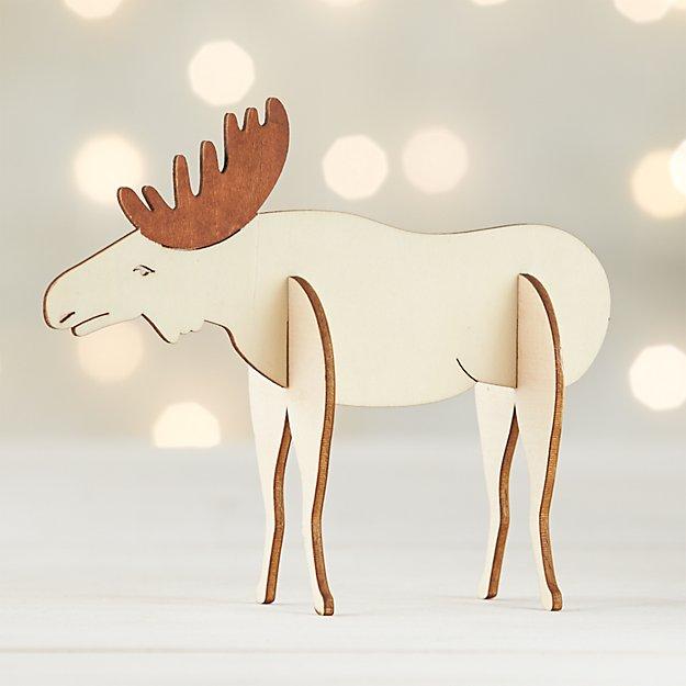 Laser-Cut Moose