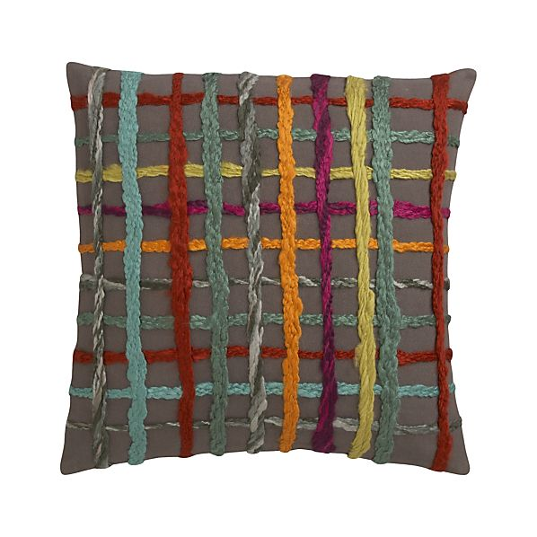 "Latitude 18"" Pillow with Down-Alternative Insert"