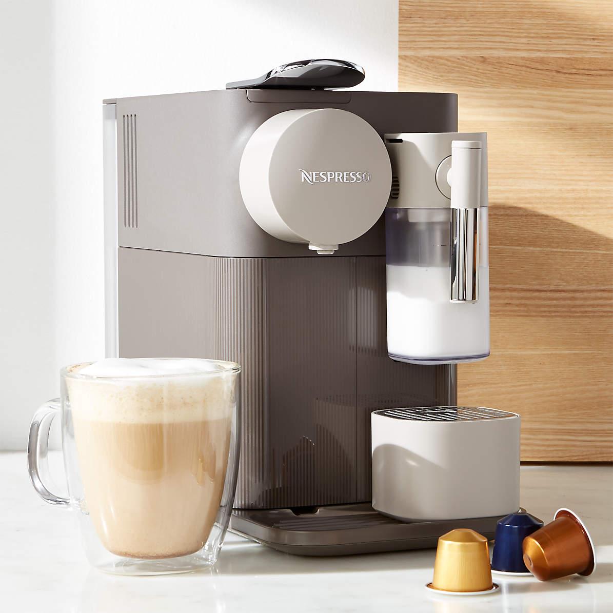 Nespresso Lattissima One Espresso /& Coffee Maker Warm Slate