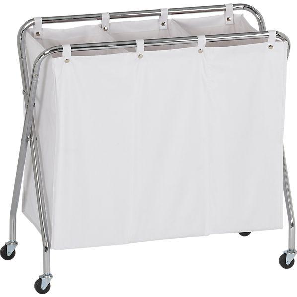 3-Section Laundry Sorter