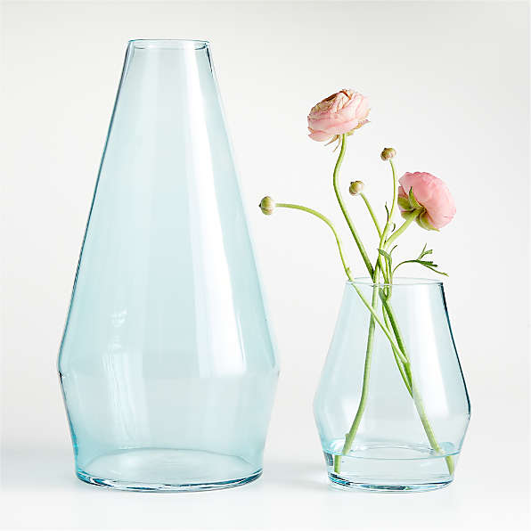 Decorative Vases Glass And Ceramic Crate And Barrel