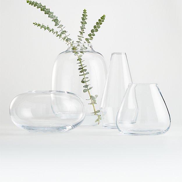 Laurel Clear Vases - Image 1 of 5