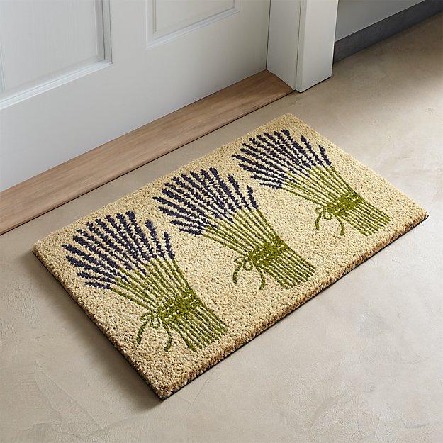 Lavender Bunch Doormat